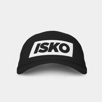 Isko Black Embroidered Cap