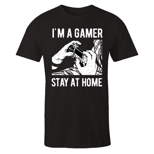 I'm a Gamer Black Cotton Shirt