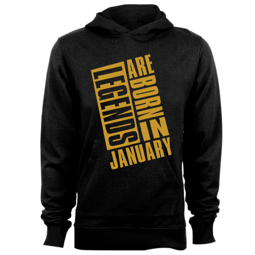 Legends Are Born In January v9 G5 Cotton Shirt