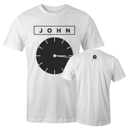 John Cotton Shirt With Logo At The Back