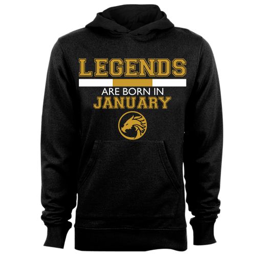Legends are Born in January v5 G5 Cotton Shirt