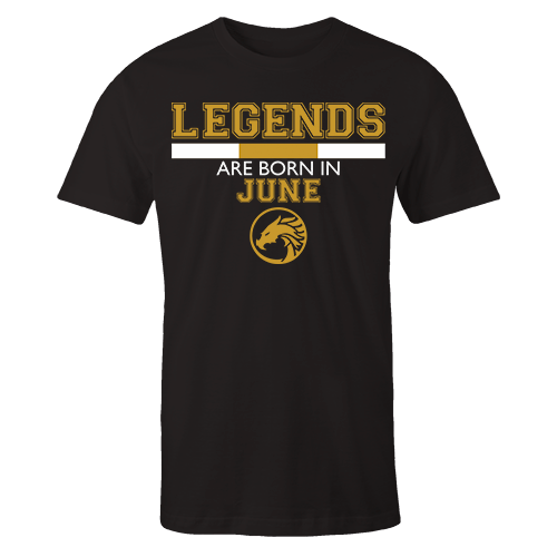 Legends are Born in June v5 G5 Cotton Shirt