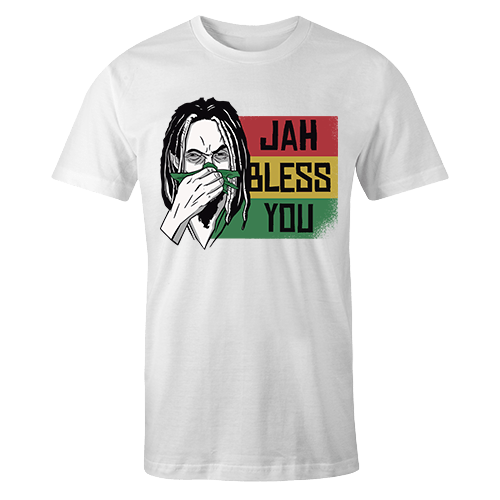 Jah Bless You Sublimation Dryfit Shirt