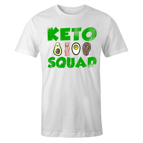 Keto Squad Sublimation Dryfit Shirt