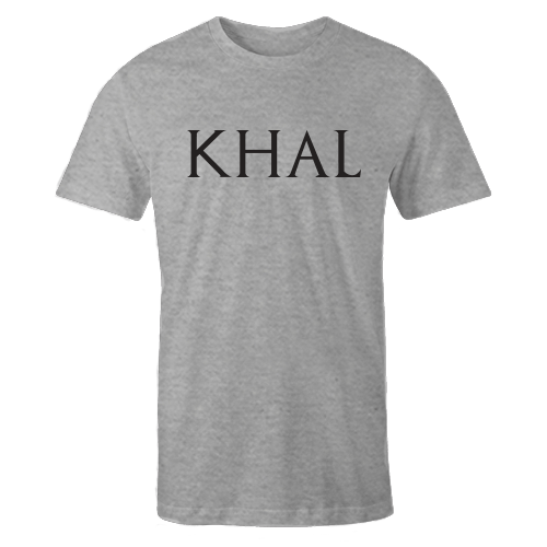 Khal Grey Cotton Shirt