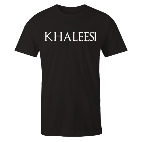 Khaleesi Black Cotton Shirt