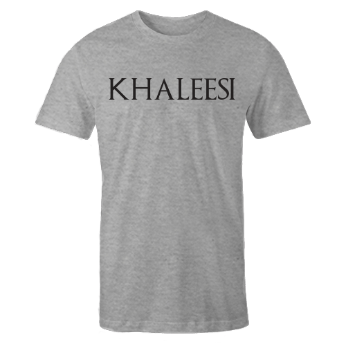Khaleesi Grey Cotton Shirt
