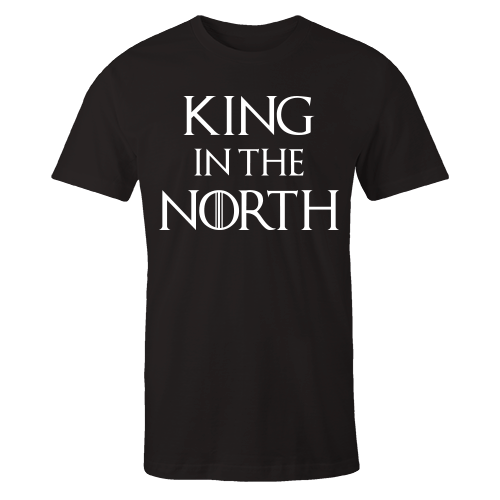 King In The North Black Shirt
