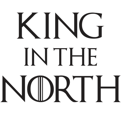 King In The North Black Cotton Shirt