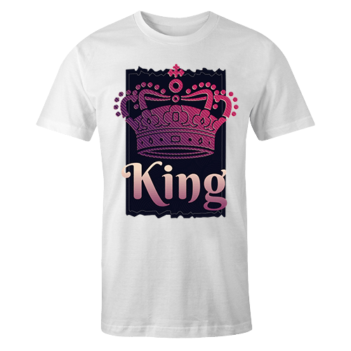 King v1 Sublimation Dryfit Shirt