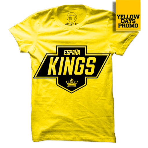 KINGS Yellow Cotton Shirt