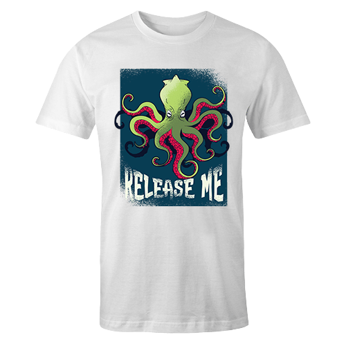 Sad Kraken Sublimation Dryfit Shirt
