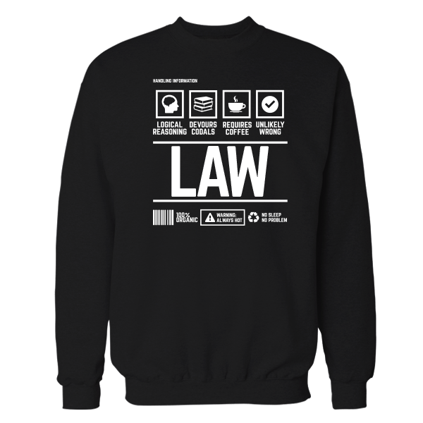 Law Handling Black Shirt