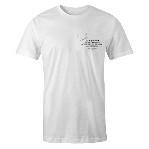 Le petit prince White Cotton Shirt