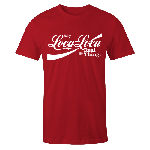 Loca-loca Red Cotton Shirt