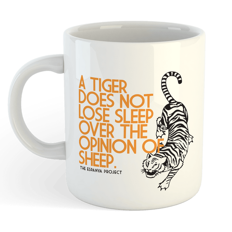 LOSE SLEEP Sublimation White Mug