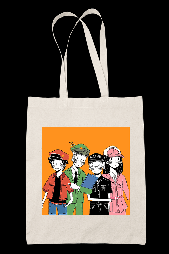 LUH X CELLS AT WORK Sublimation Canvass Tote Bag