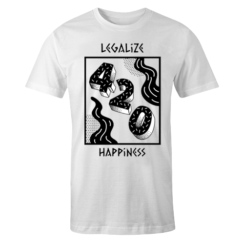 Legalize Happiness Sublimation Dryfit Shirt