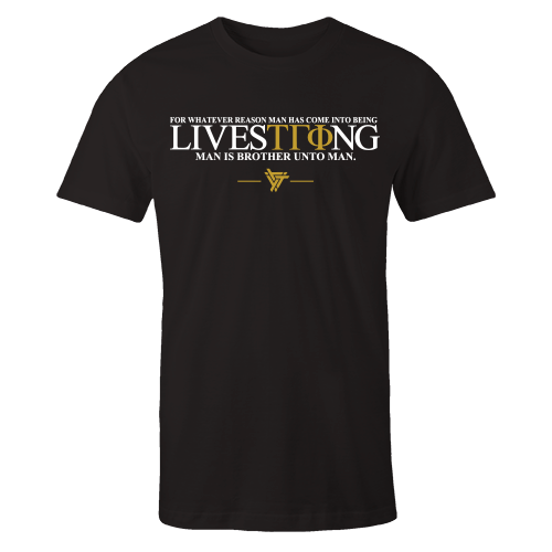 LiveSTRong Black Cotton Shirt