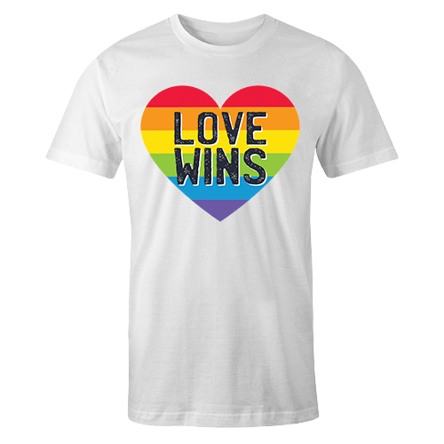 Love Wins Sublimation Dryfit Shirt