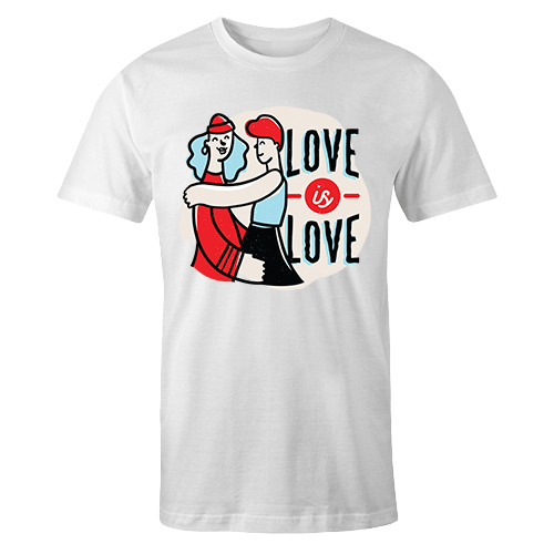 Love is Love Sublimation Dryfit Shirt