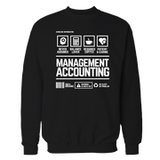 Management Accounting Handling Black Shirt