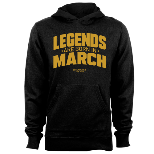 Legends are Born in March v8 G5 Cotton Shirt
