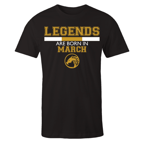 Legends are Born in March v5 G5 Cotton Shirt