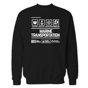 Marine Transportation Handling Black Shirt