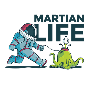Martian Life Sublimation Dryfit Shirt