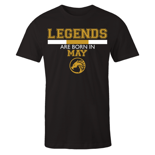 Legends are Born in May v5 G5 Cotton Shirt
