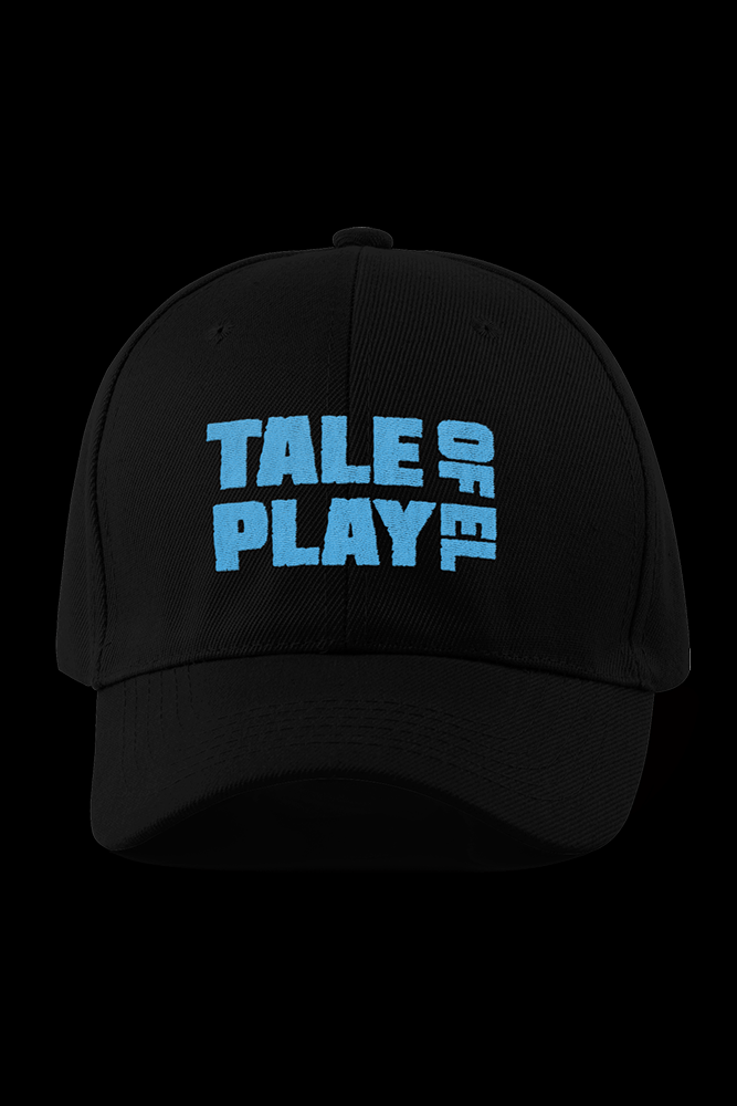 TALExPLAY of EL Black Embroidered Cap