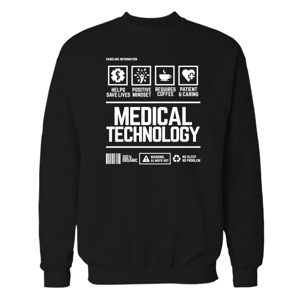 Med Tech Handling Black Shirt