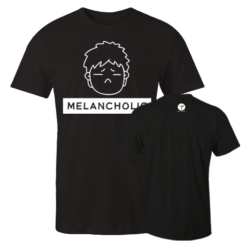 P-melancholic M Cotton Shirt With Logo At The Back