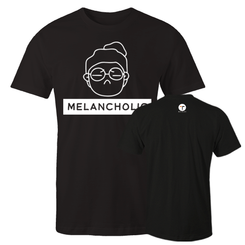 P-melancholic W Cotton Shirt With Logo At The Back