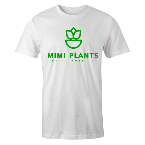 Mimi Plants Logo White Cotton Shirt