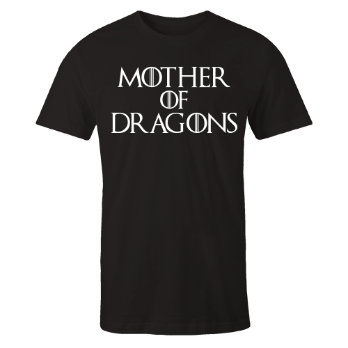 Mother Of Dragons Black Shirt