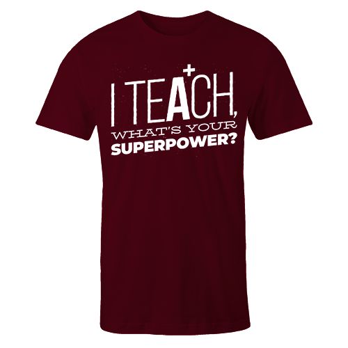 I Teach Cotton Shirt