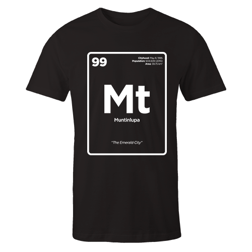 Periodic Table Series - Muntinlupa Cotton Shirt