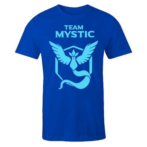 Team Mystic Blue Cotton Shirt
