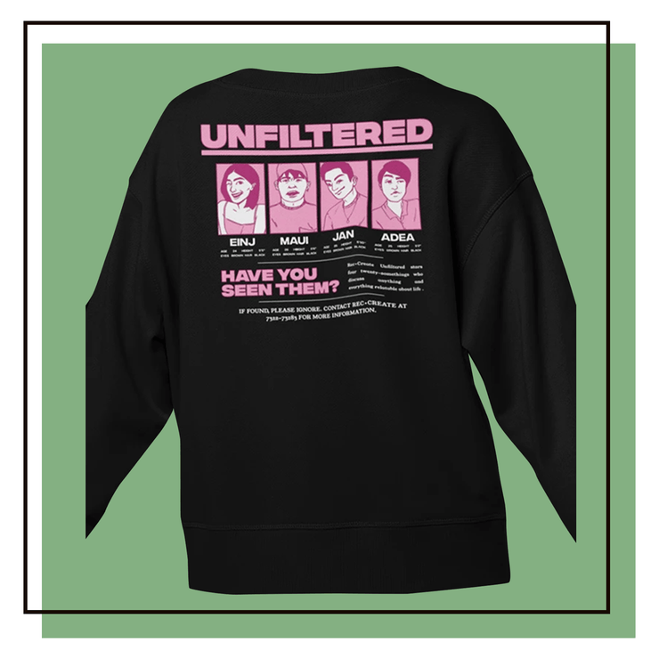 UFSWT2 Black Cottn Sweatshirt