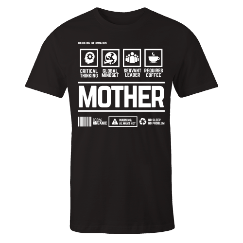 Mother Handling Black Cotton Shirt