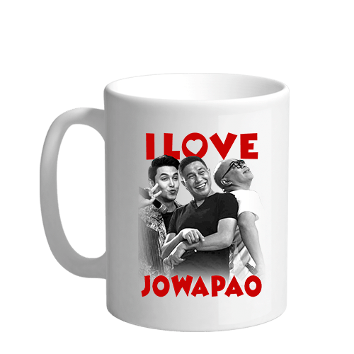 I Love Jowapao Sublimation White Mug