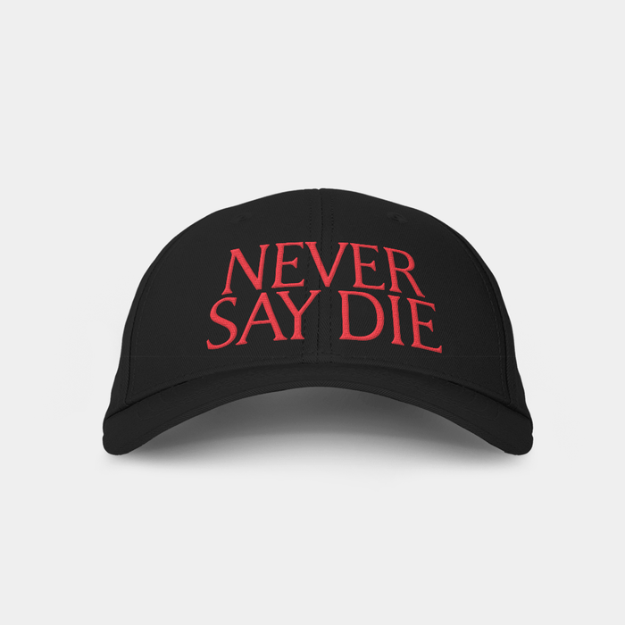 Never Say Die v3 Embroidered Cap