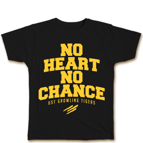 No Heart No Chance Black Cotton Shirt