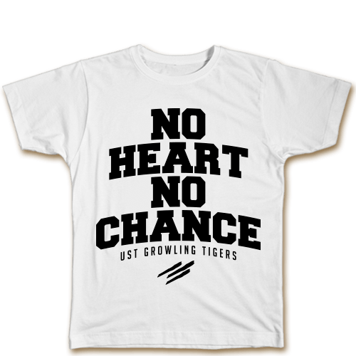 No Heart No Chance White Cotton Shirt