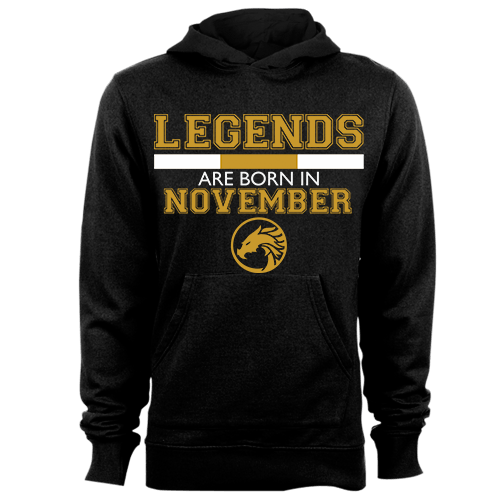 Legends are Born in November v5 G5 Cotton Shirt
