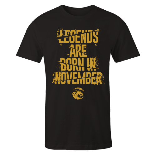Legends are Born in November v6 G5 Cotton Shirt