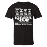 Occupational Therapist Handling Black Shirt