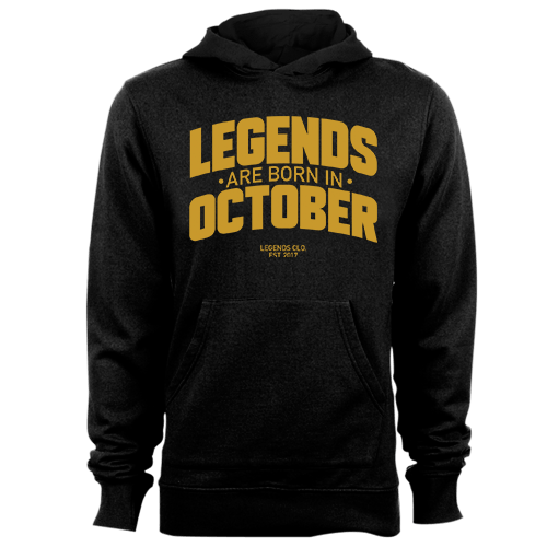 Legends are Born in October v8 G5 Cotton Shirt